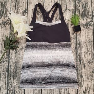 Athleta Stride Punch and Crunch Tank Top Sz XS